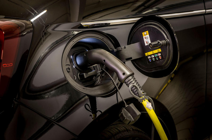 Fiat 500 electric 2021 first drive review - charging port
