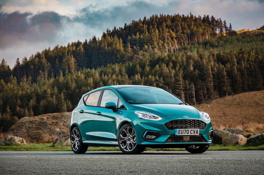 Ford Fiesta EcoBoost mHEV 2020 UK first drive review - static front
