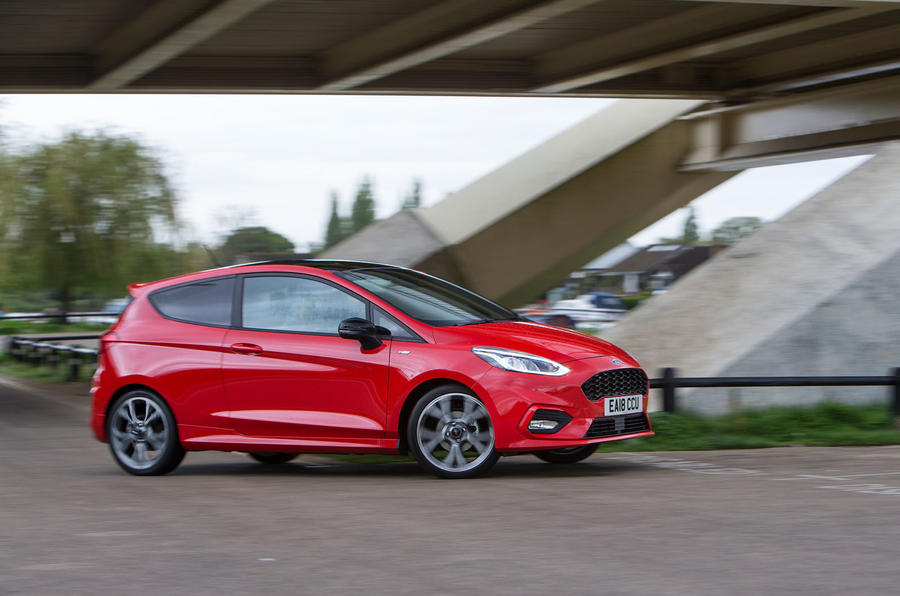 Ford Fiesta ST-Line 2018 long-term review road side
