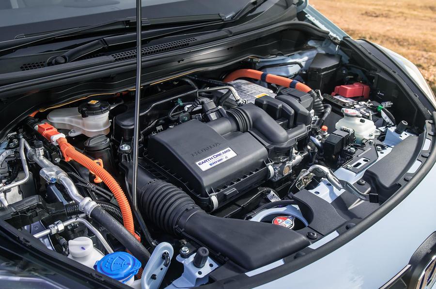 Honda Jazz Crosstar 2020 UK first drive review - engine