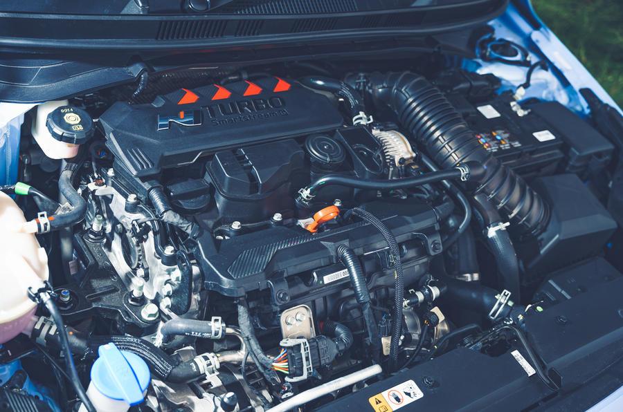 15 Hyundai i20N 2021 RHD UE FD moteur