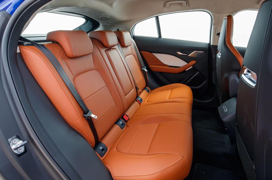 Jaguar I-Pace 2018 review rear seats