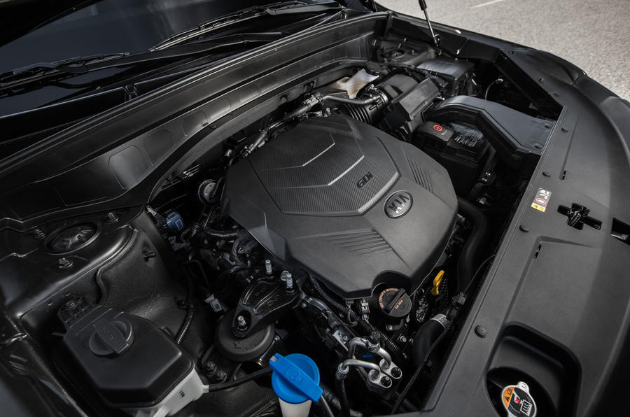 Kia Telluride 2019 first drive review - engine