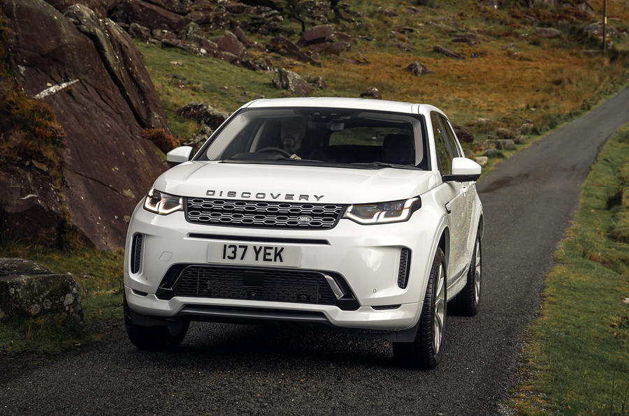 Land Rover Discovery Sport P300 PHEV 2020 UK first drive review - static