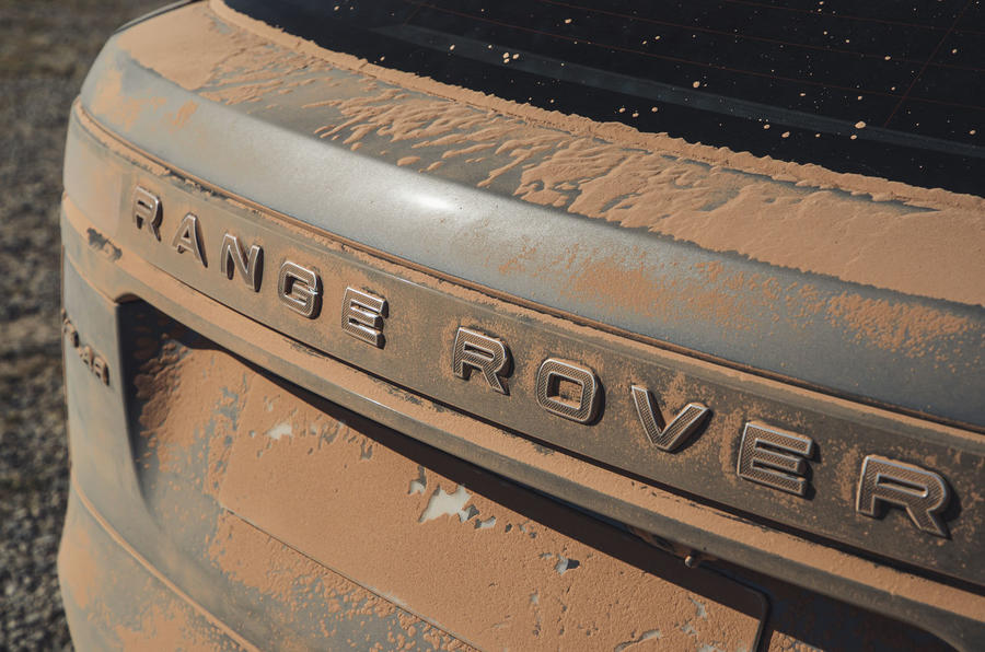 Land Rover Range Rover Velar SVAutobiography 2019 first drive review - boot badge