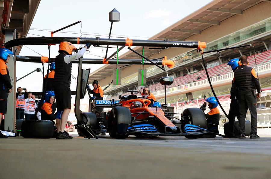 McLaren F1 car engineering