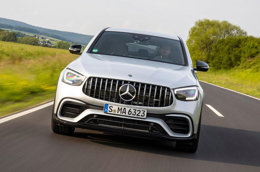 Mercedes-AMG GLC 63 S Coupé 2019 first drive review - on the road nose