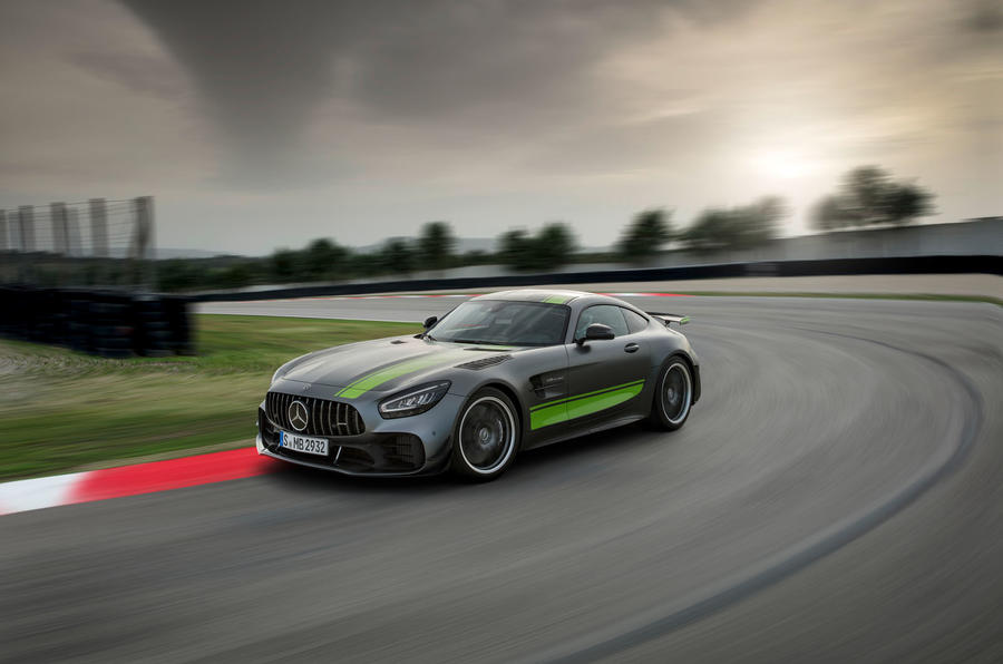 Mercedes-AMG GT R Pro 2019 first drive review - circuit front
