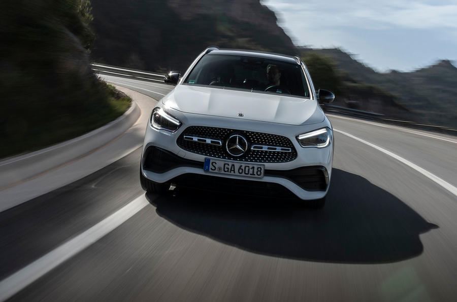 Mercedes-Benz GLA 2020 UK first drive review - on the road front