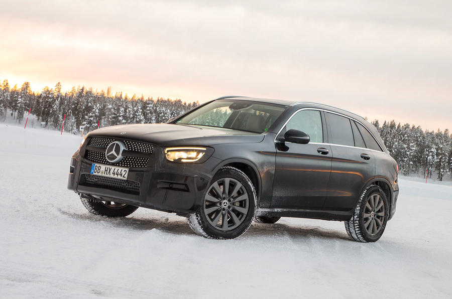Mercedes-Benz GLC 300 2019 prototype drive - static
