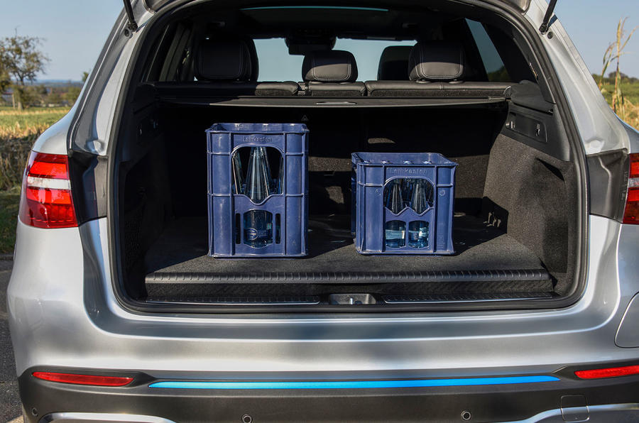 Mercedes-Benz GLC F-Cell 2018 first drive review - boot