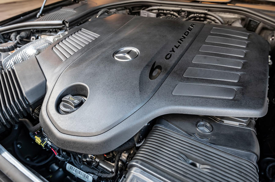 Mercedes-Benz S-Class S500 2020 first drive review - engine