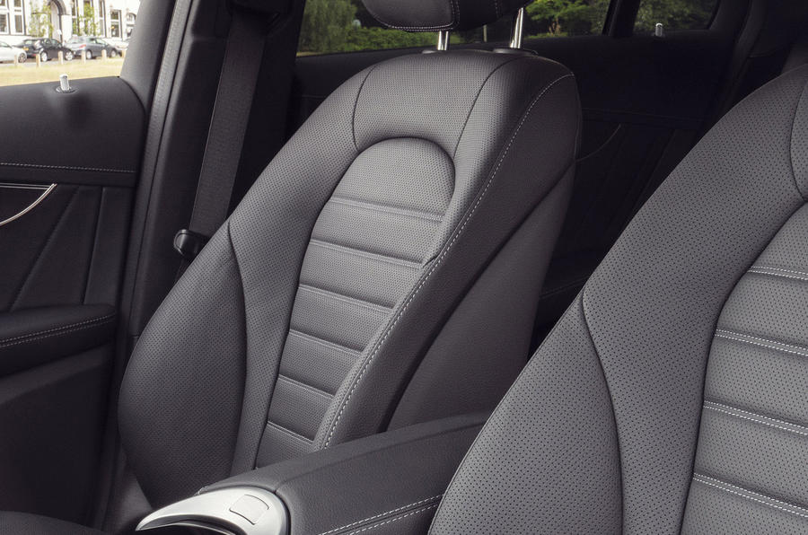 Mercedes-Benz EQC 400 2019 UK first drive review - seats