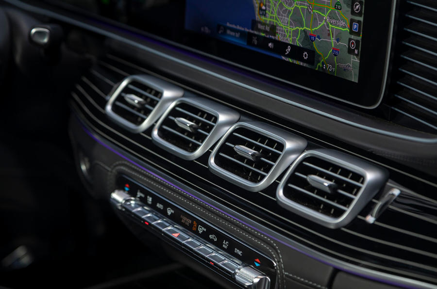Mercedes-Maybach GLS 600 2020 first drive review - air vents