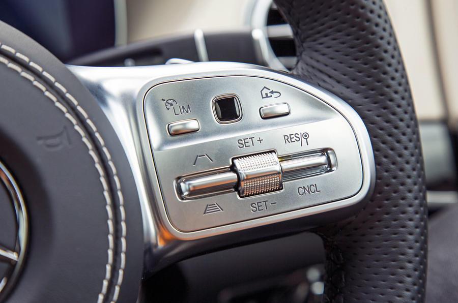 Mercedes-Benz S-Class S500L 2018 long-term review - steering wheel controls