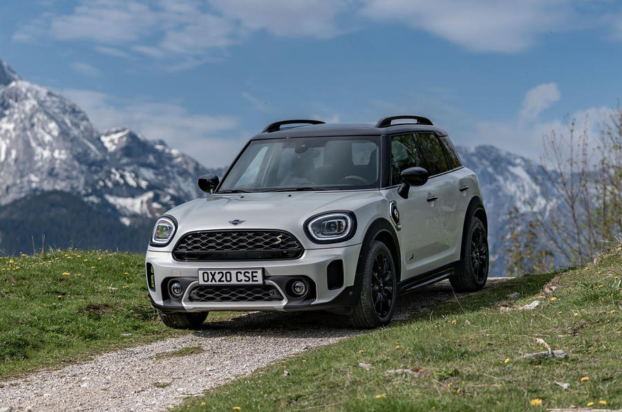 Mini Countryman Cooper S E All4 2020 first drive review - static front
