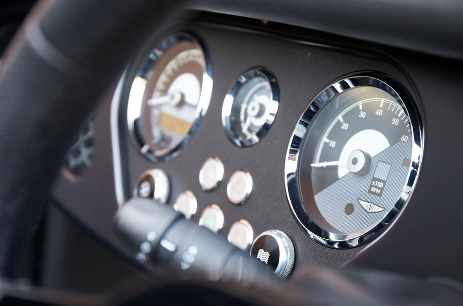 Morgan Plus Four 2020 UK first drive review - dials