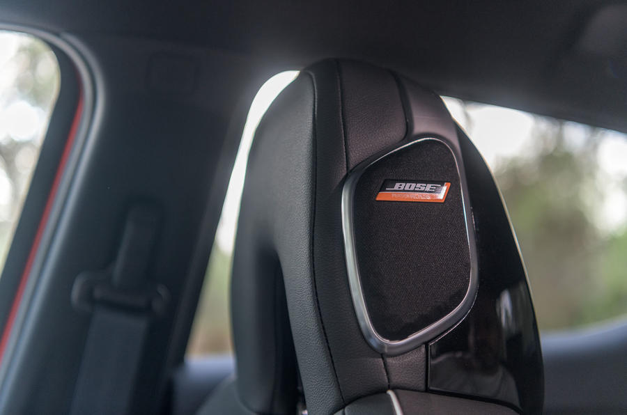 Nissan Juke 2019 first drive review - speakers