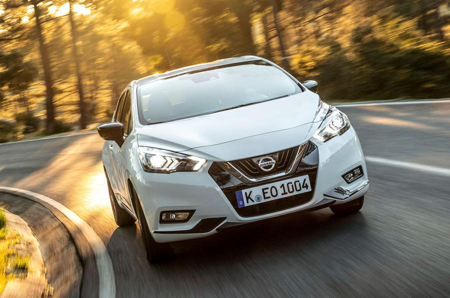 Nissan Micra 2019 first drive review - on the road nose
