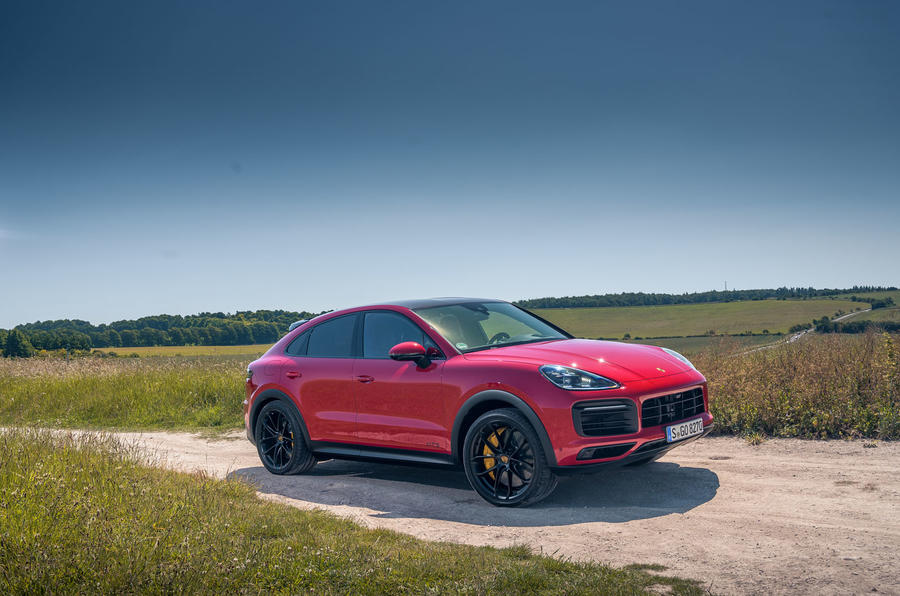 Porsche Cayenne GTS 2020 UK first drive review - static front