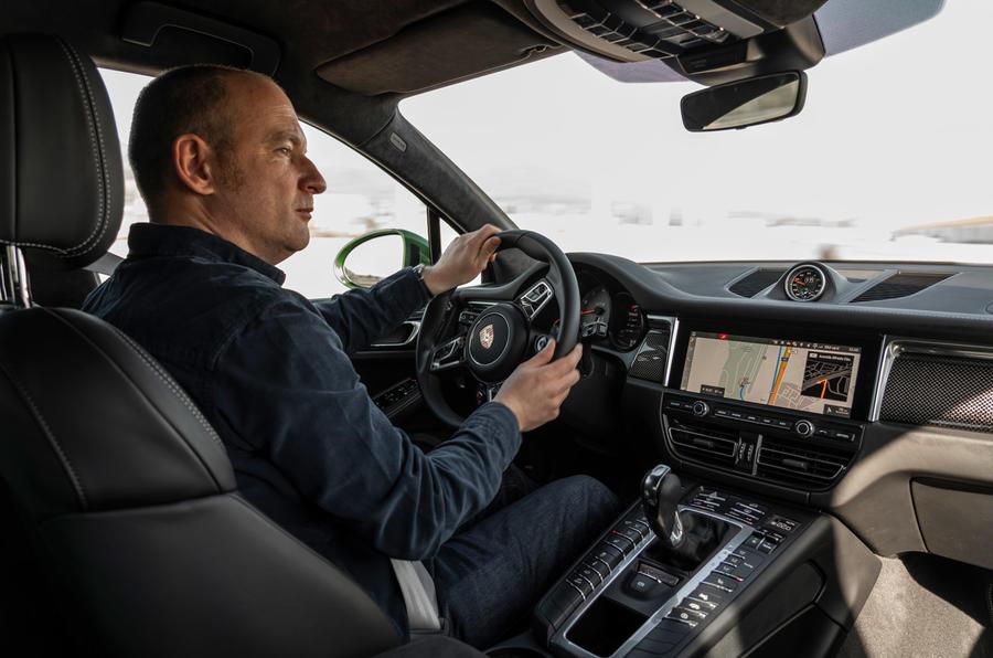 Porsche Macan GTS 2020 first drive review - James Disdale driving