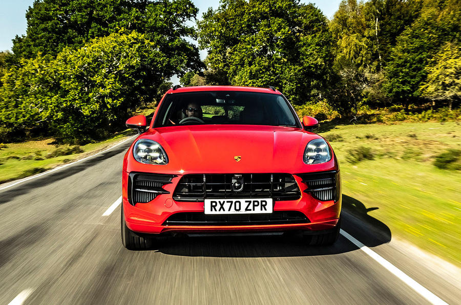 Porsche Macan GTS 2020 UK first drive review - on the road nose