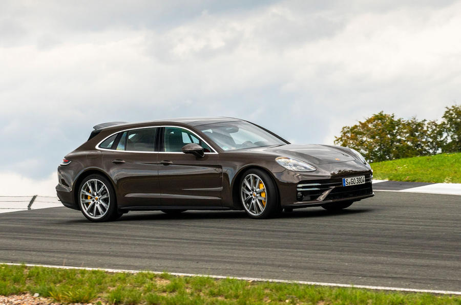 Porsche Panamera Turbo S Sport Turismo 2020 first drive review - sliding