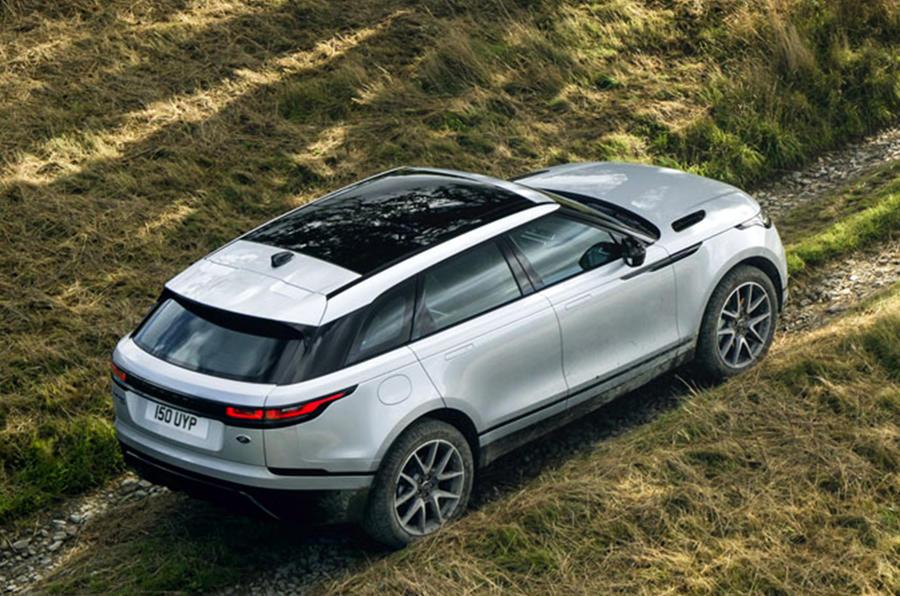 Range Rover Velar - overhead