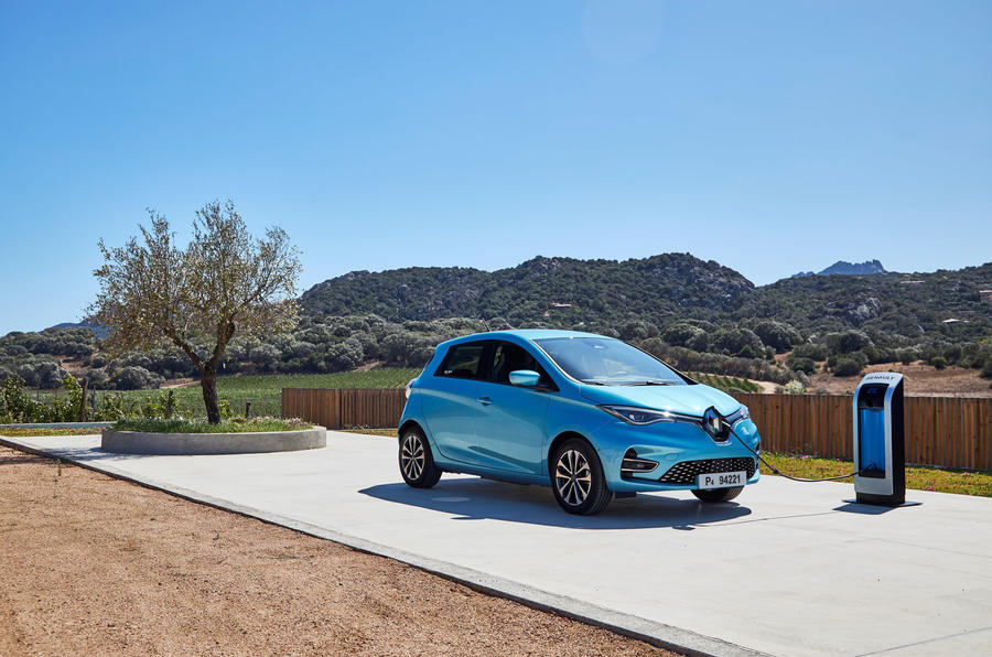 Renault Zoe GT Line R135 2019 first drive review - static front