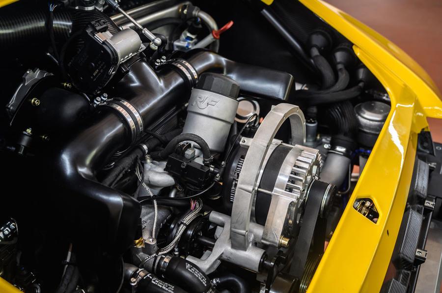 15 RUF CTR 2020 premier moteur d'examen de l'entraînement