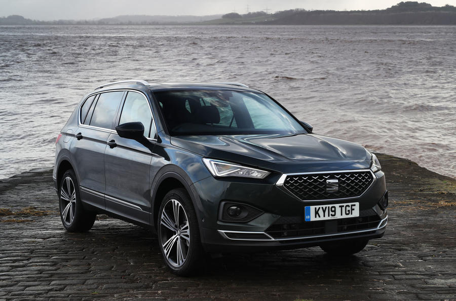Seat Tarraco 2019 UK first drive review - static front