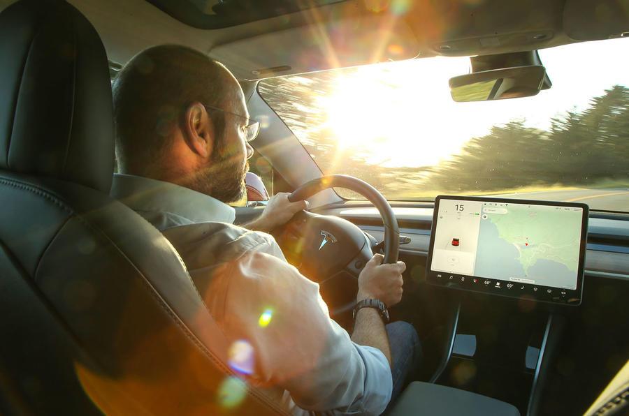 Tesla Model 3 2018 review Prior driving