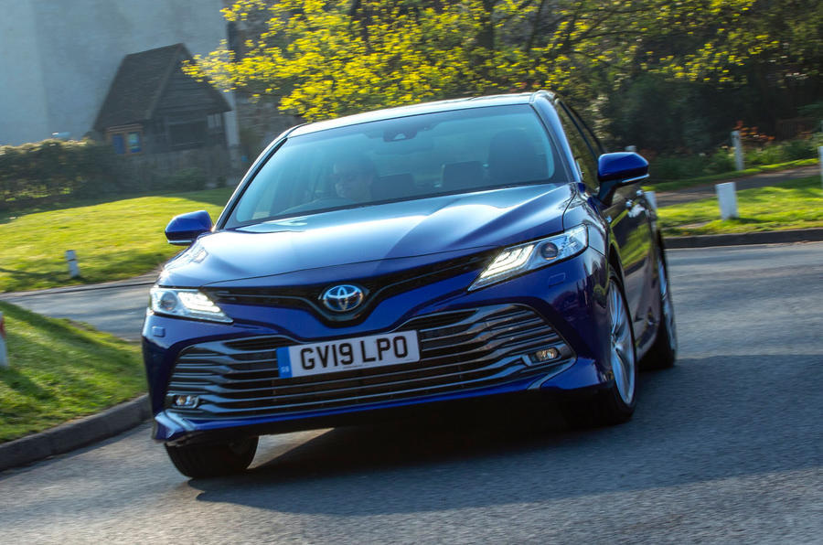 Toyota Camry 2019 UK first drive review - cornering
