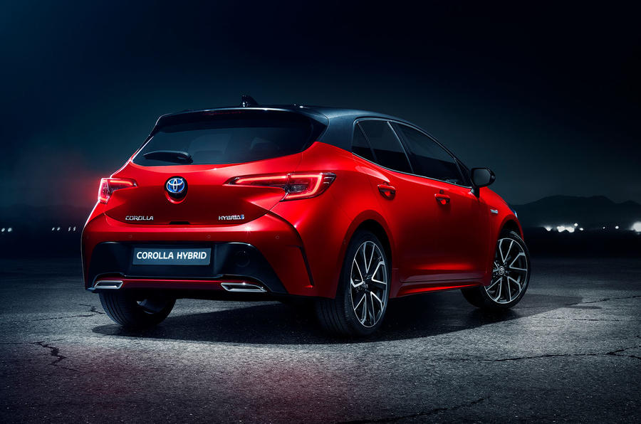 Toyota Corolla 2018 prototype first drive - static rear