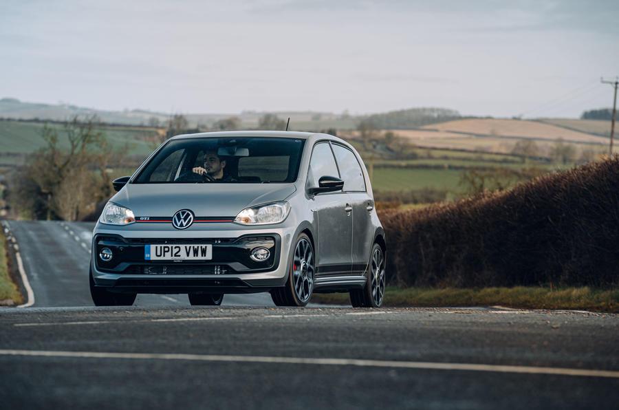 Volkswagen Up GTI 2020 : premier bilan de la conduite au Royaume-Uni - dans les virages
