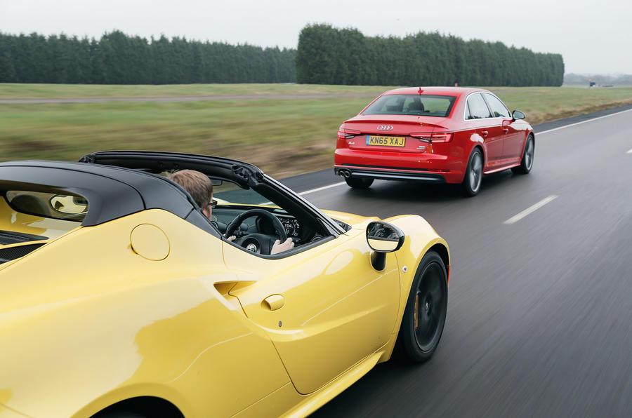 Alfa Romeo 4C, Audi A4