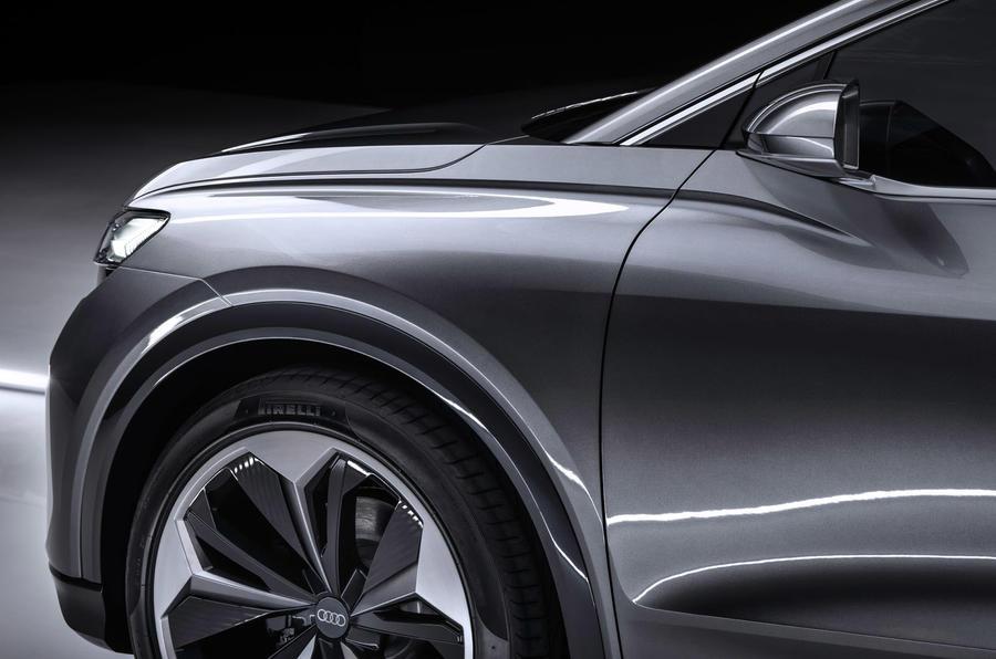 Audi Q4 E-tron - wheel