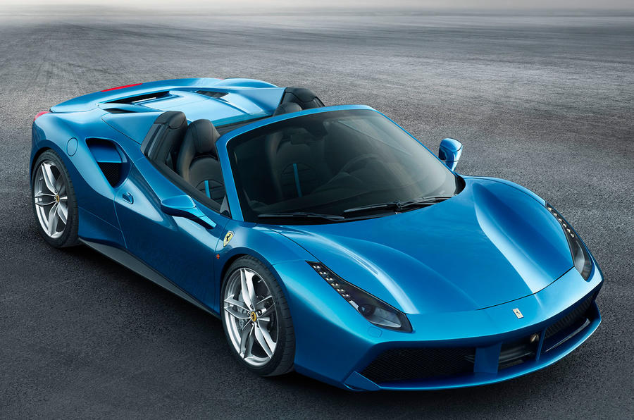2016 ferrari 488 spider revealed new pictures and video. Black Bedroom Furniture Sets. Home Design Ideas