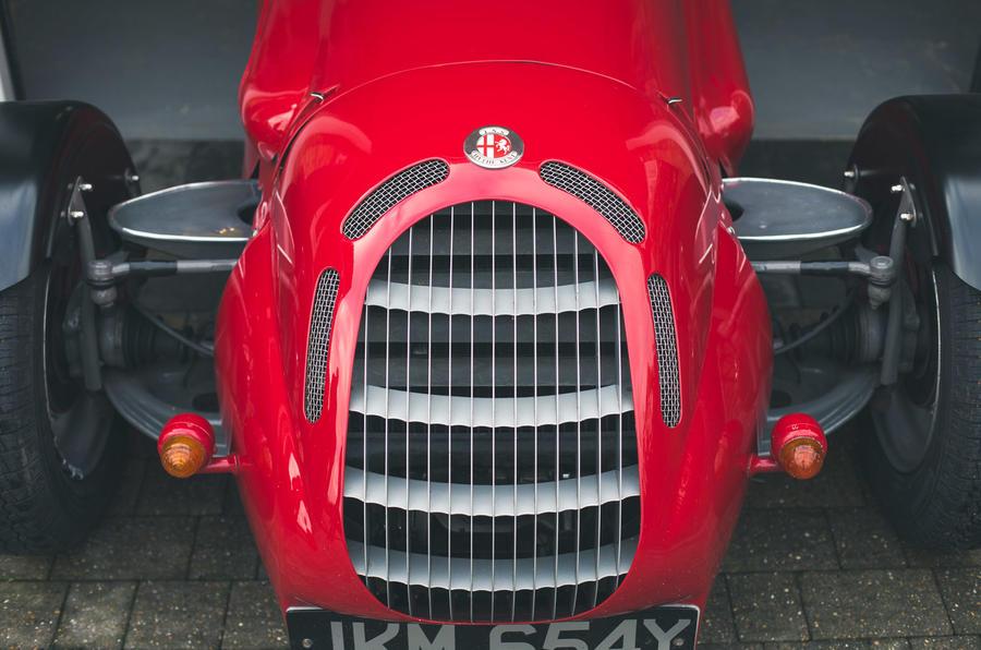 John Nash kit car 2020 - grille