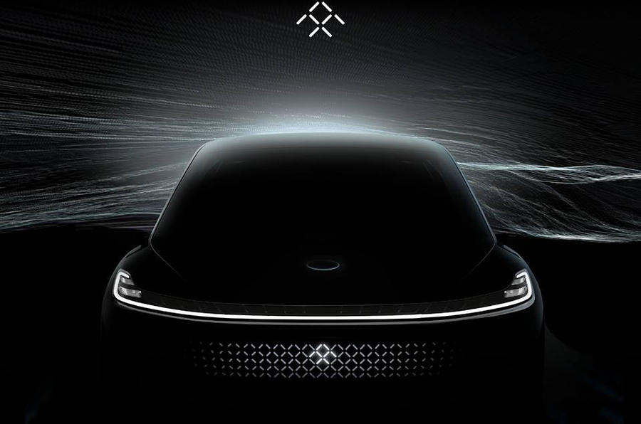 Faraday Future previews upcoming electric SUV with new image