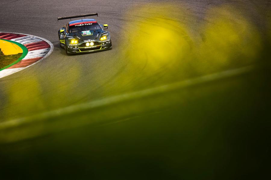 Aston Martin V8 Vantage GTE racer