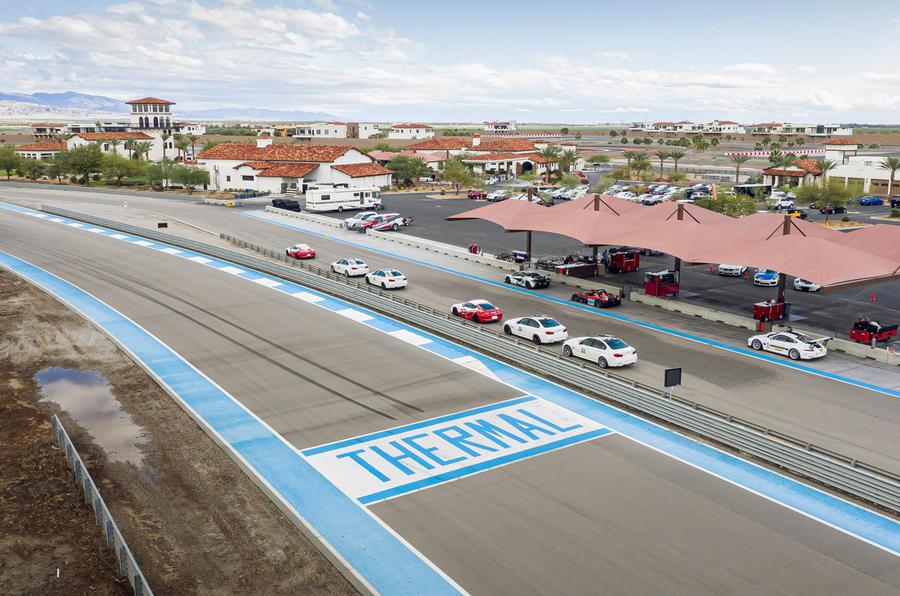 Thermal Raceway 2020 - panorama