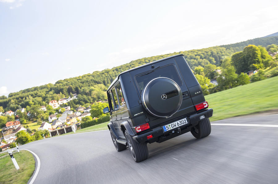 Mercedes-AMG G 63 rear