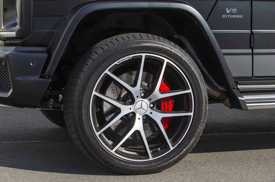 20in Mercedes-AMG G 63 alloys