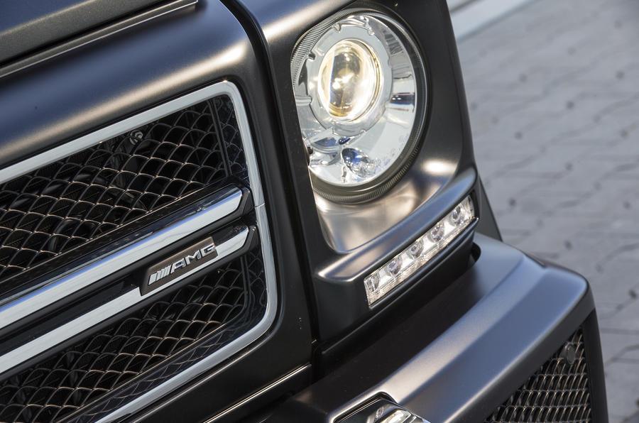 Bi-xenon Mercedes-AMG G 63 headlights