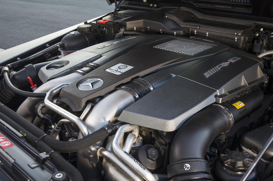 5.5-litre V8 Mercedes-AMG G 63 engine