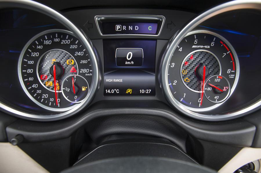 Mercedes-AMG G 63 instrument cluster