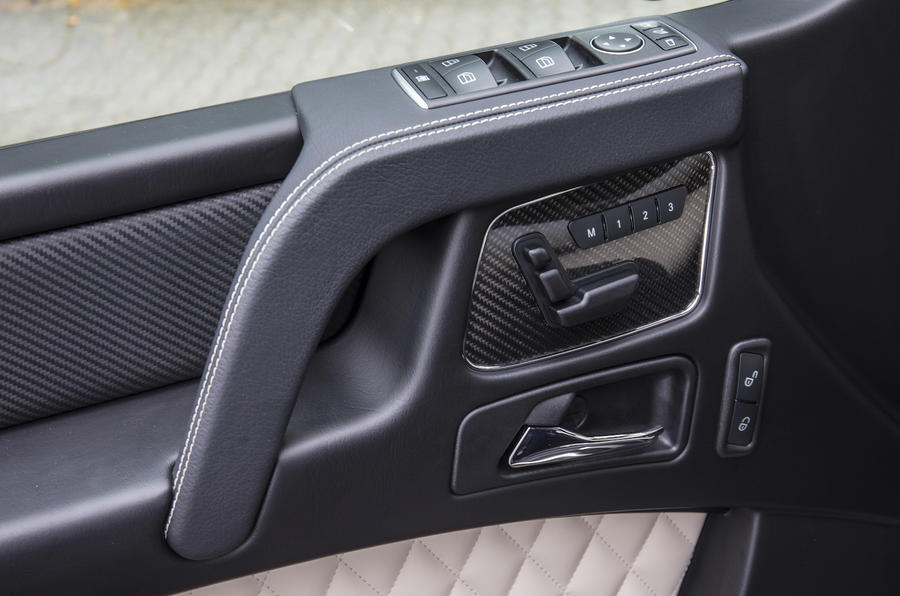Mercedes-AMG G 63 door card