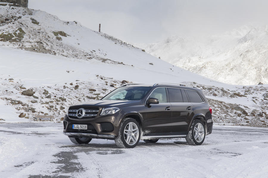 4 star Mercedes-Benz GLS 350 d