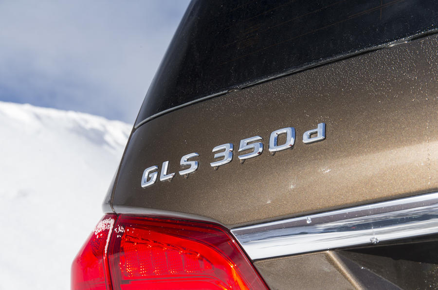 Mercedes-Benz GLS 350 d badging